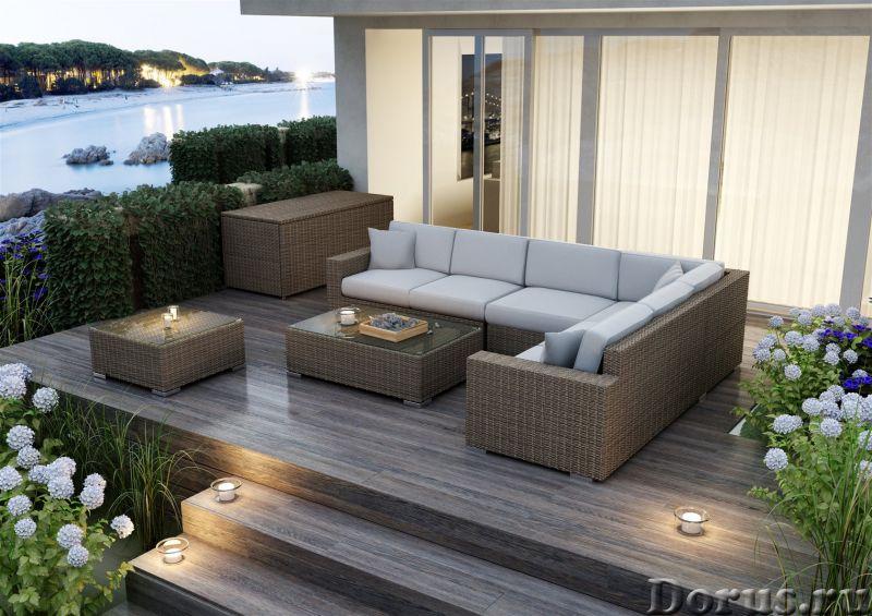 Плетеная мебель - Прочая мебель - Компания Красивый дом предлагает огромный ассортимент садовой мебе..., фото 1