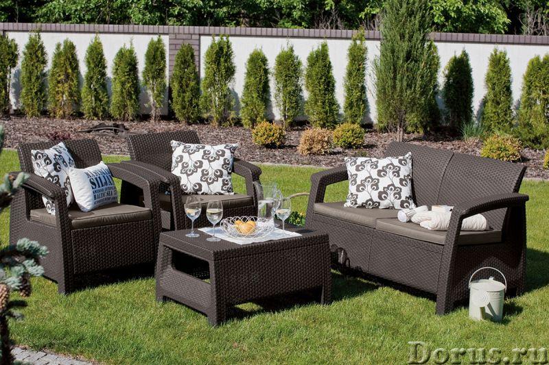 Плетеная мебель - Прочая мебель - Компания Красивый дом предлагает огромный ассортимент садовой мебе..., фото 2