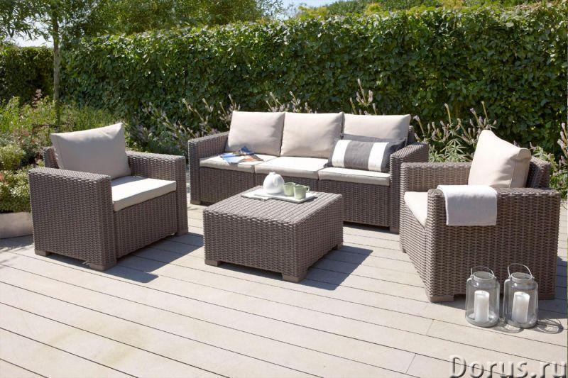 Плетеная мебель - Прочая мебель - Компания Красивый дом предлагает огромный ассортимент садовой мебе..., фото 3