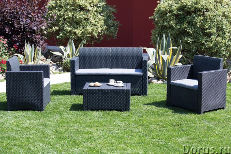 Плетеная мебель - Прочая мебель - Компания Красивый дом предлагает огромный ассортимент садовой мебе..., фото 4