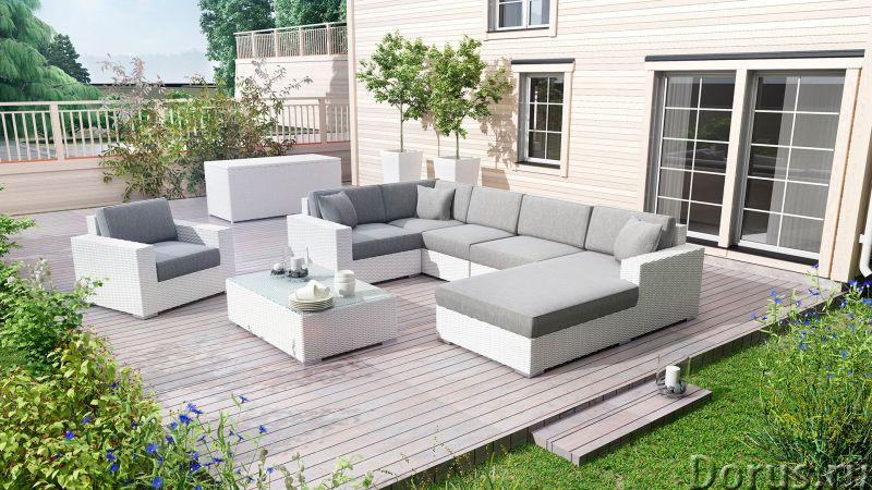 Плетеная мебель - Прочая мебель - Компания Красивый дом предлагает огромный ассортимент садовой мебе..., фото 5