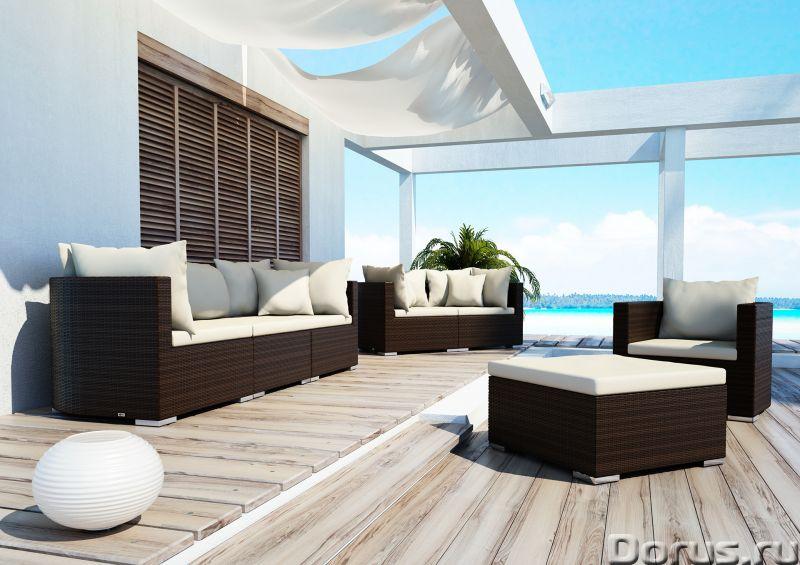 Плетеная мебель - Прочая мебель - Компания Красивый дом предлагает огромный ассортимент садовой мебе..., фото 6