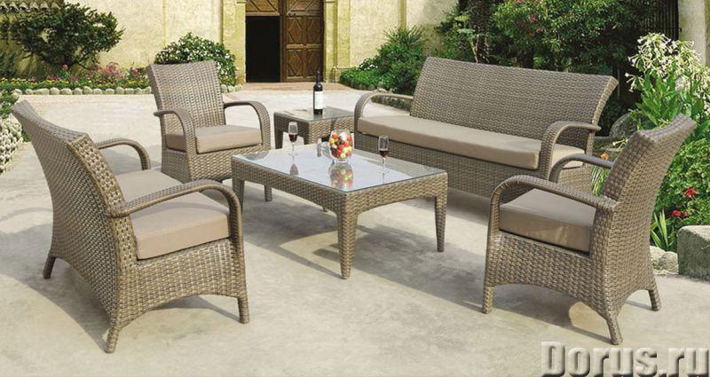 Плетеная мебель - Прочая мебель - Компания Красивый дом предлагает огромный ассортимент садовой мебе..., фото 7