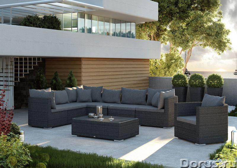 Плетеная мебель - Прочая мебель - Компания Красивый дом предлагает огромный ассортимент садовой мебе..., фото 9
