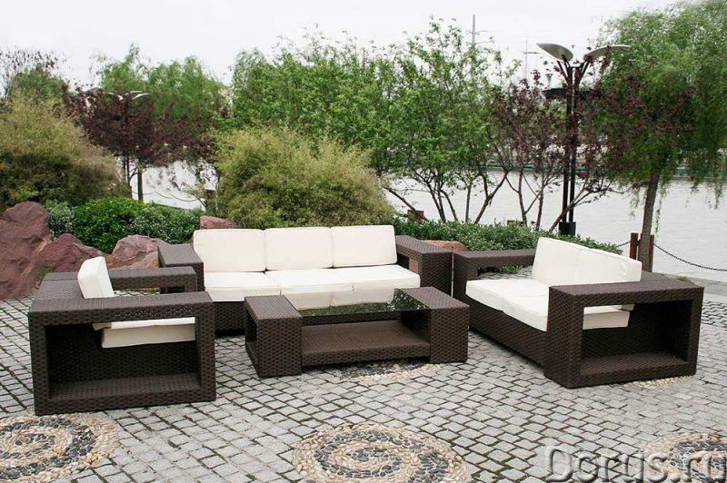 Плетеная мебель - Прочая мебель - Компания Красивый дом предлагает огромный ассортимент садовой мебе..., фото 10