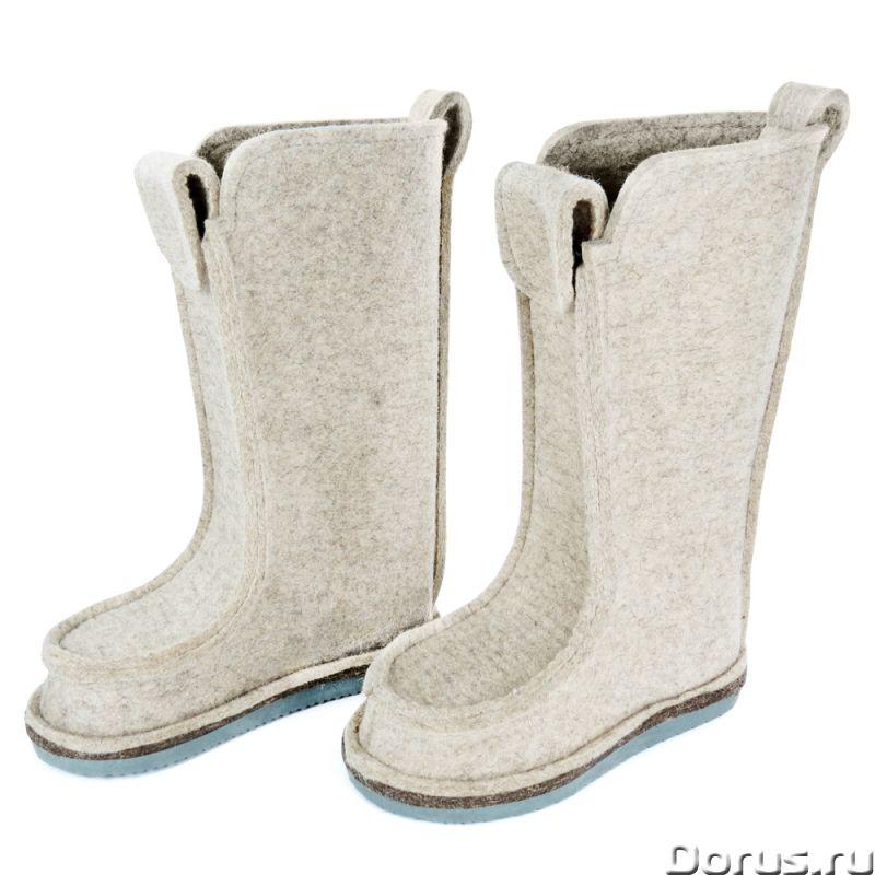 Валеши из натурального войлока - Одежда и обувь - Предлагаем оптом и в разницу популярную сейчас обу..., фото 2