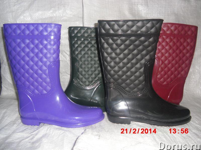 Резиновая обувь оптом и в возницу - Одежда и обувь - Предлагаем оптом и в розницу сапоги детские, по..., фото 1