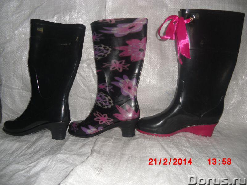 Резиновая обувь оптом и в возницу - Одежда и обувь - Предлагаем оптом и в розницу сапоги детские, по..., фото 3
